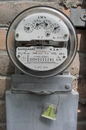 English: Hydro-Quebec electric meter