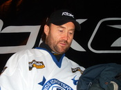 Ed Belfour, Canadian ice hockey player of Leksands IF