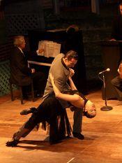 English: Tango show in Buenos Aires Español: Espectáculo de Tango show in Buenos Aires Português: Apresentação de Tango em Buenos Aires
