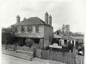 Property of G.W. Horsler, Baptist Street, Redfern