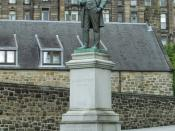 English: James Arthur Statue James Arthur was a local businessman. James Arthur 1819-1885 A memorial of respect and esteem from those who were in his employment