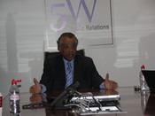 English: Reverend Al Sharpton at 5W Public Relations for its monthly speakers series