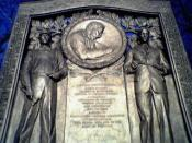 The George Westinghouse Memorial in Schenley Park