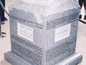 Judge Roy Moore's Ten Commandments Monument