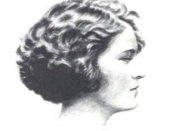 A photograph of Zelda Fitzgerald published in Metropolitan Magazine in June 1922, accompanying her piece