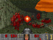 Doom s level of graphic violence made the game highly controversial
