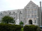 Monastery on the campus of Villanova University.