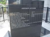 Picture of Michael Jordan plaque at the United Center.