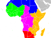 Regions of Africa: Northern Africa Western Africa Central Africa Eastern Africa Southern Africa