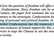 Freedom and Confucianism