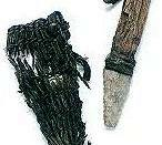 Ötzi's flint knife and its sheath