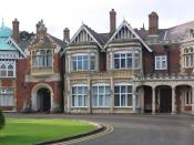The main house at Bletchley Park. The estate was bought in 1877 and later developed by Seckham.