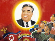 Kim Il-sung s Poster