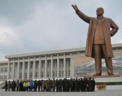 Mansudae Grand Monument; Pyongyang, DPRK (North Korea)