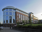 The Valley Library at the Oregon State University campus in Corvallis, Oregon