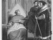 Henry VIII: Act III, Scene 2: Wolsey resigns the seals