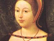 Margaret Tudor, daughter of Henry VII of England, sister of Henry VIII, wife of James IV of Scotland and mother of James V.