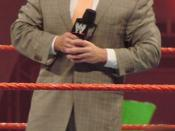 English: Vince McMahon at a WWE Raw event. Bradley Center, Milwaukee, Wisconsin, September 242007. Taken by me.