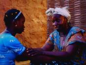 Sembène's 2004 film Moolaadé explores the controversial subject of Female circumcision in Africa