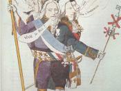 Charles Maurice de Talleyrand-Périgord, who served under several regimes, depicted