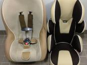 TAKATA child safety seat.