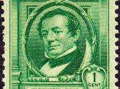English: U.S. Postage stamp, Washington Irving commemorative issue of 1940.