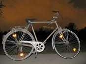 Cycling Bike at Night