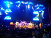 English: The Allman Brothers Band performing at the United Palace Theatre in New York City