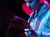 English: Derek Trucks with The Allman Brothers Band Holmdel, New Jersey PNC Bank Arts Center