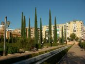 Parque Federico Garcia Lorca, en Granada