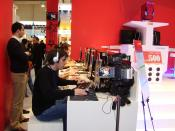 E-Sport-Match (Clanwar) between two Counter-Strike 1.6 clans on the CeBit 2006.