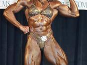 English: Female Pro Bodybuilding Extravaganza Strength Contest 2001