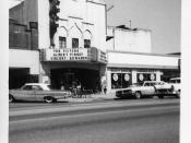 This is the Texas Theater in Dallas, Texas. Photo taken by me at age 15 with a Kodak Instamatic on Easter weekend in March 1964. It is the theater where Lee Harvey Oswald was arrested for the assassination of President John F. Kennedy four months earlier.