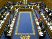Northern Ireland Assembly in session.