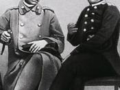 Shokan Valikhanov (left) and Fyodor Dostoyevsky (right). Valikhanov was a Genghisid of the Jochi lineage.