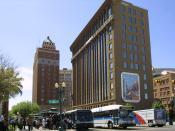 English: Downtown El Paso, Texas, taken in April 2004