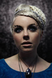 English: Headshot of singer Little Boots as provided by her record company