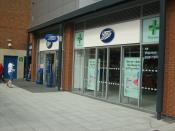 Boots The Chemist at Gunwharf Quays, Portsmouth.