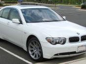 BMW 745i photographed in Gainesville, Virginia, USA. Category:BMW E65