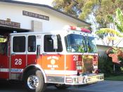 English: San Diego Fire Department Engine 28