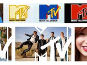 MTV's original 1981 and revised 2009 logos both feature dynamic patterns and images