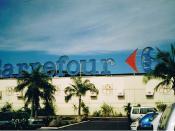 The Carrefour supermarket at Faa'a, Tahiti, French Polynesia