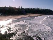 English: beach, sydney