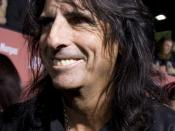 Alice Cooper, American rock singer. Taken at the 2007 Scream Awards