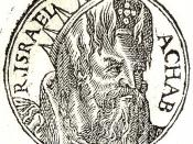 English: Ahab was king of Israel and the son and successor of Omri (1 Kings 16:29-34).