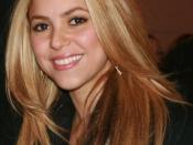 English: Shakira and her fiancee, Antonio de la Rúa, with President Obama