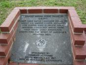 English: Code Talkers Monument Ocala, Fl. Memorial Park