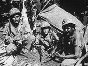 Navajo Code Talkers, Saipan, June 1944