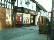 Manor House and Laura Ashley - High Street - Solihull - 1999 / 2000