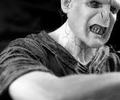 English: A figure of Lord Voldemort made by artist Kevindooley Español: Figura de Lord Voldemort hecha por el artista Kevindooley